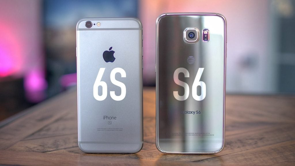 Duelul apple vs samsung, service gsm Constanta